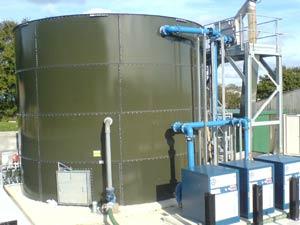 Jaspers Treburley Wastewater Treatment Plant