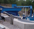 Campbeltown WWTW – Packaged grit plant on existing SAF treatment stream.