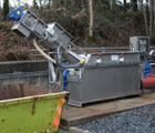 Haverthwaite WWTW – Upgrade inlet works inc. inline spiral screen and raked bar screen.