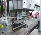 Welsh Water – Installation of Bosker automatic raking machine – Swansea Bay sewage treatment works