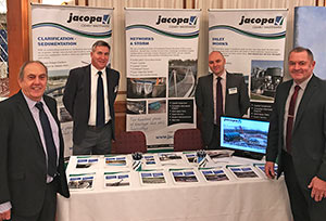 JACOPA SET'S THE TREND AT WASTEWATER 2018