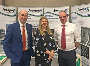 NORTHERN IRELAND WATER CEO DROPS BY