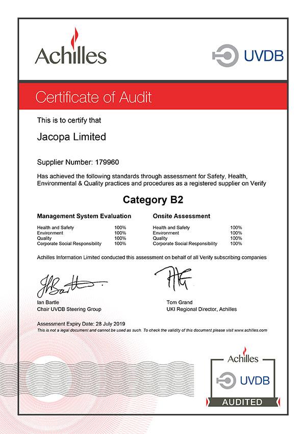 Achilles-UVDB-B2-Audit-Certificate-2018_600