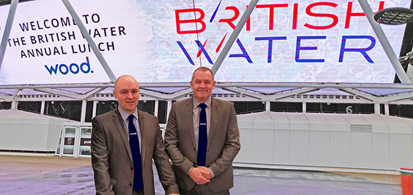 JACOPA SPONSOR BRITISH WATER LUNCH