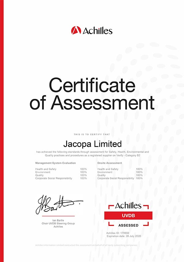 SECOND SUCCESSFUL ACHILLES AUDIT