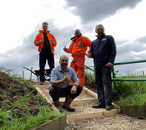 JACOPA TAKES TO SUPPORTING LOCAL COMMUNITY GREEN SPACES