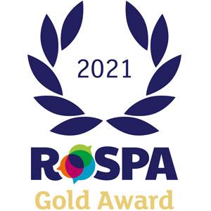 JACOPA WINS PRESTIGIOUS ROSPA GOLD AWARD