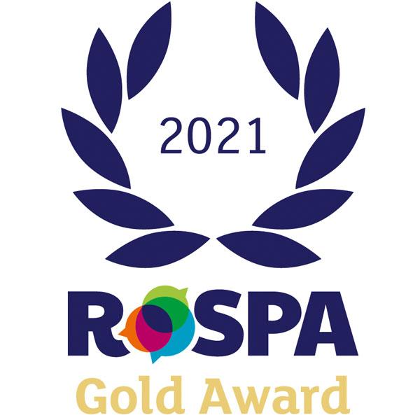 RoSPA Gold Award 2021